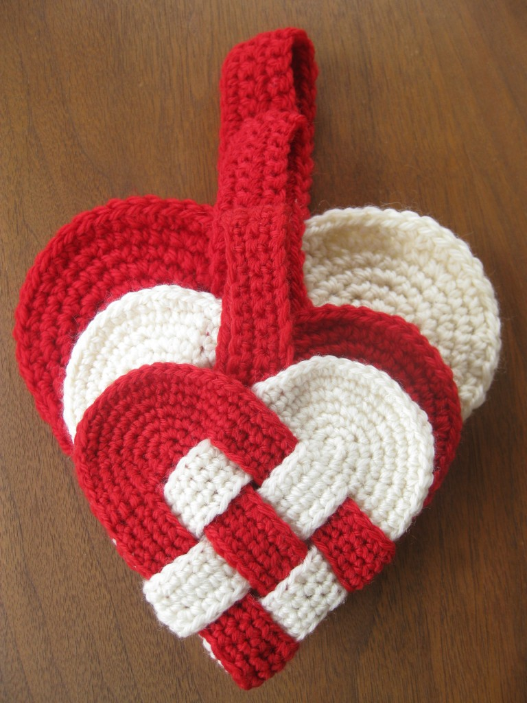 Free Crochet Pattern A Day : free danish heart crochet pattern alipyper