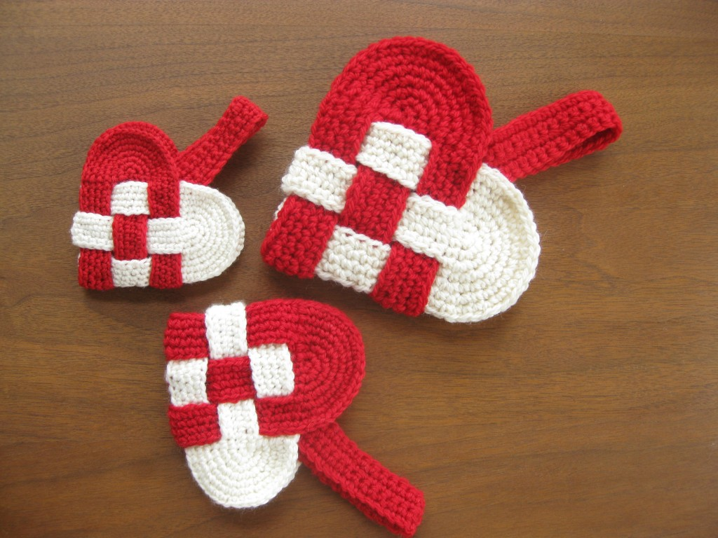 Crochet Pattern Heart : Free danish heart crochet pattern Crafty Projects I Like