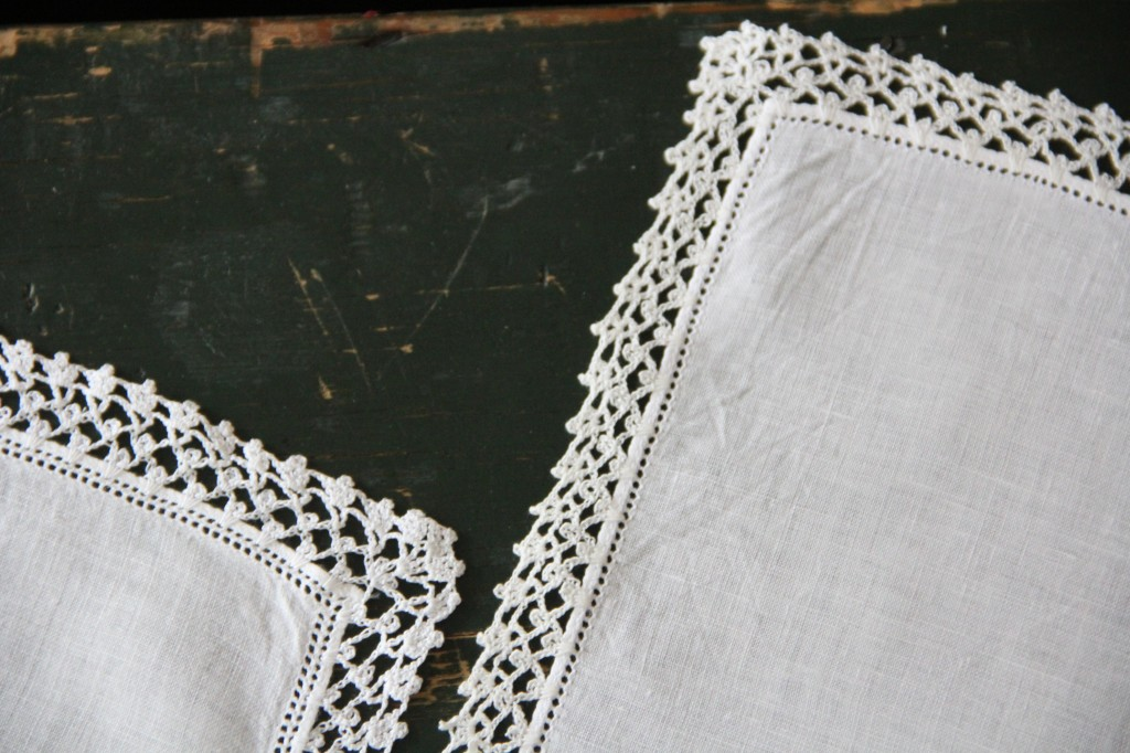 crocheted handkerchief edging alipyper
