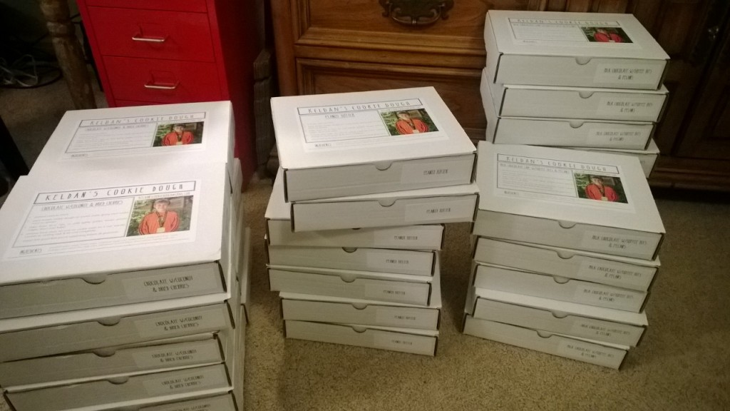 alipyper boxes stacked and ready