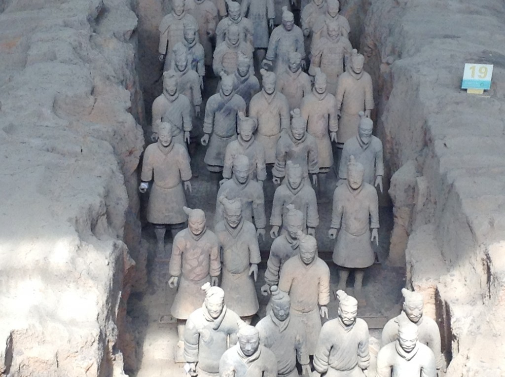 the amazing terracotta warriors